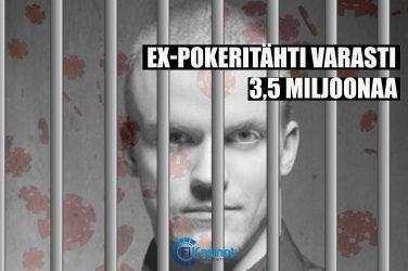 Ex-pokerinpelaaja Peter Jepsen tuomittiin varkauksista