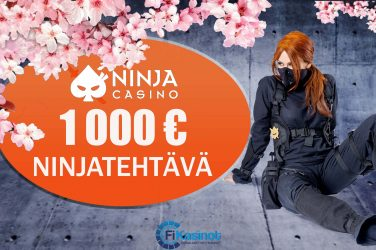 Käteisturnaus Ninja Casinolla