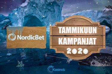 NordicBetin tammikuun kampanjat