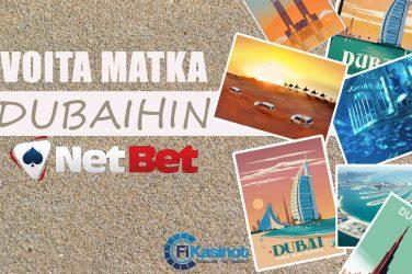 VIP matka Dubaihin NetBetiltä
