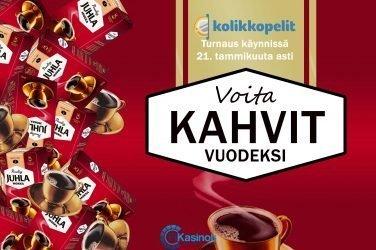 Vuoden kahvit Kolikkopeleiltä