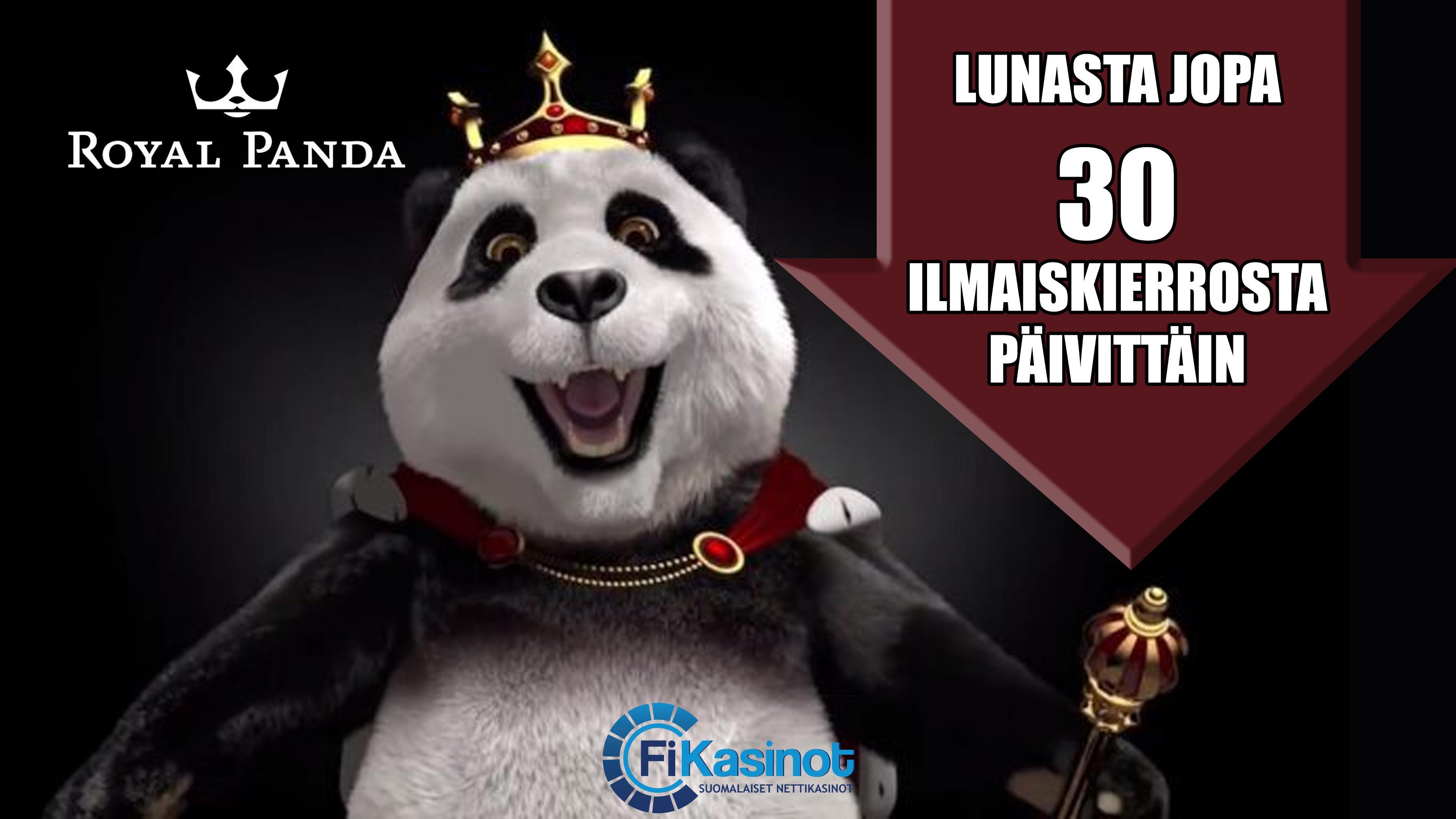 Royal Pandalta runsaasti