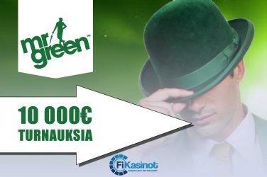 10 000 euron turnaukset Mr Greenillä
