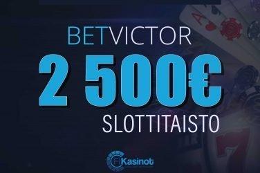 BetVictorin 2 500 euron slottitaisto