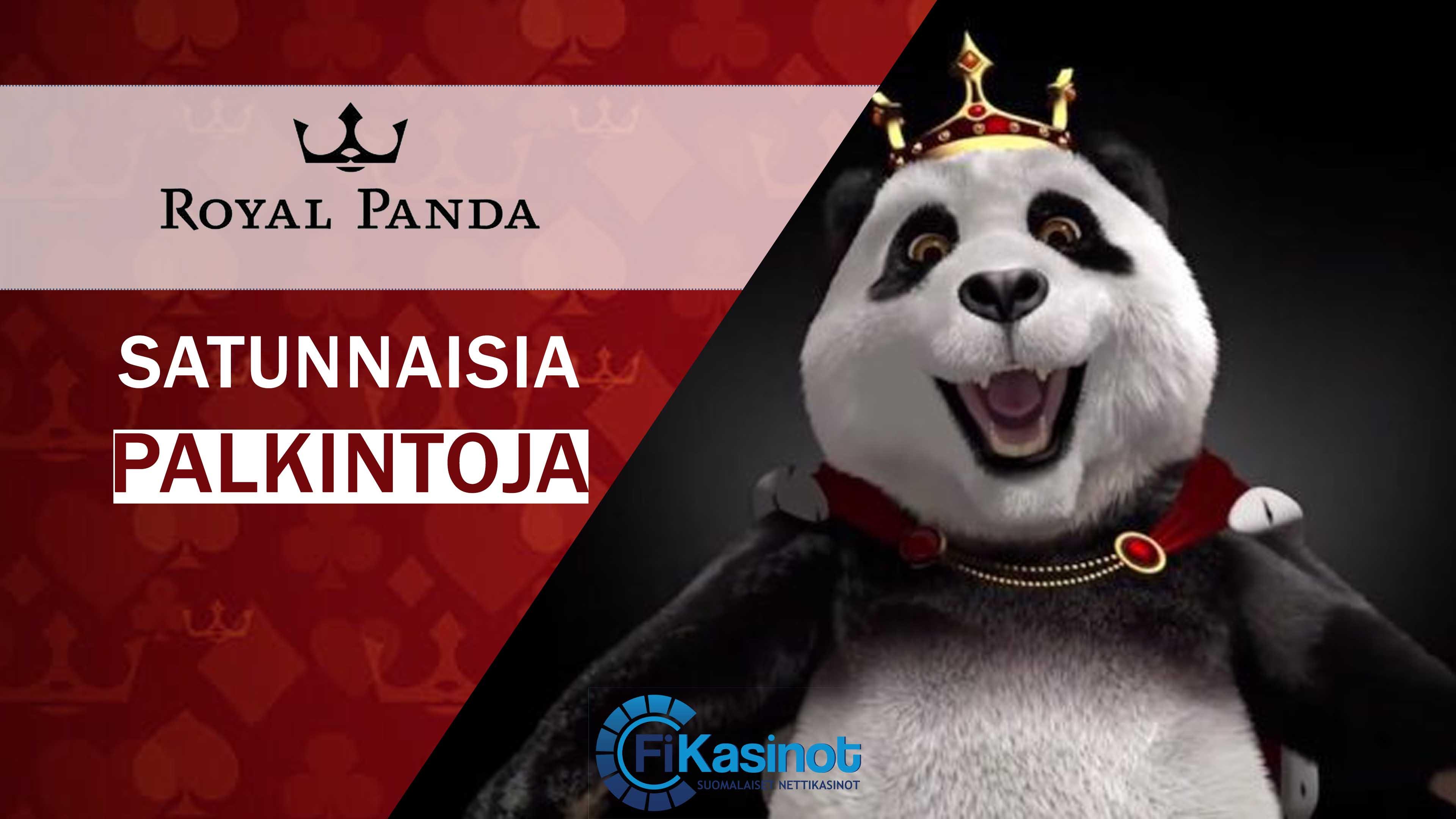 Satunnaisia palkintoja Royal Pandalta