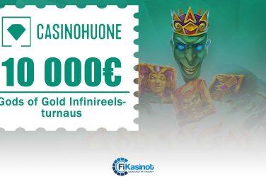 Casinohuoneen 10 000 euron turnaus