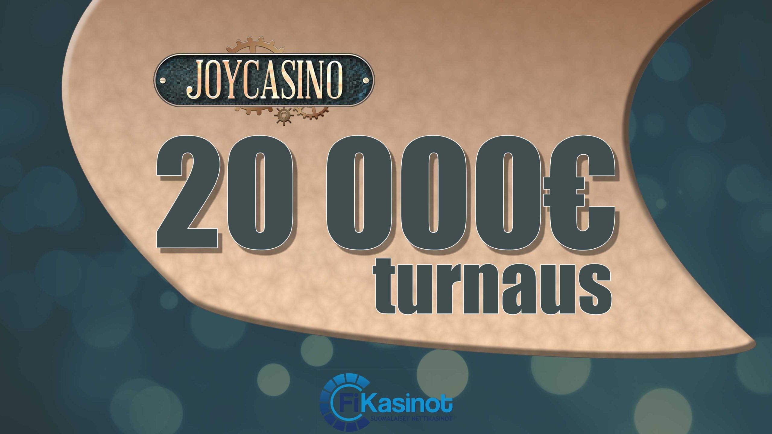 JoyCasinon 20 000 euron turnaus