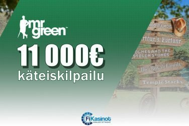 Mr Greenin 11 000 euron käteiskisa