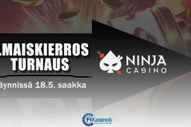 Ninja Casinon ilmaiskierrosturnaus