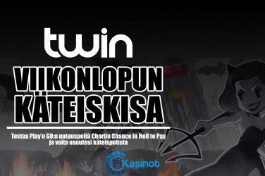 Viikonlopun käteiskisa Twin Casinolla