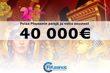 40 000 euroa käteistä 21 comilla