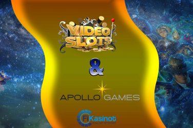 Apollo Gamesin pelit Videoslotsille