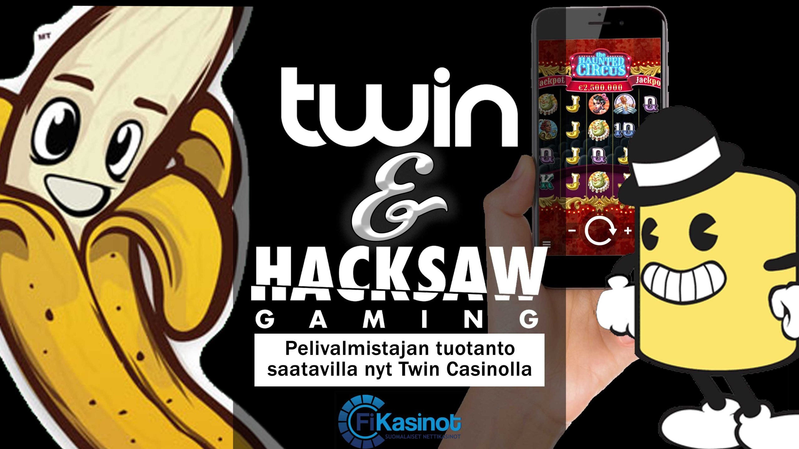 Hacksaw Gamingin pelit Twin Casinolla