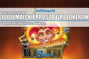 Ilmaiskierroksia Fire Jokeriin Kolikkopeleiltä