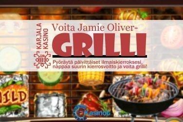 Jamie Oliver grilli Karjala Kasinolta