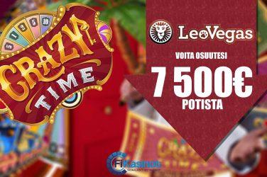 LeoVegasin 7 500 euron turnaukset