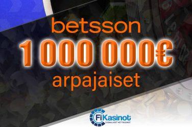 Miljoona euroa käteistä Betssonilla