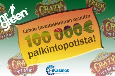 Mr Greenin 100 000 euron käteiskampanja
