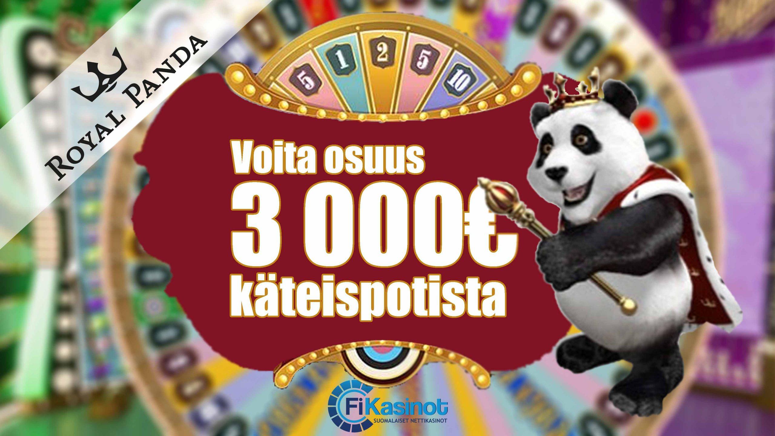 Royal Pandan 3 000 euron turnaus