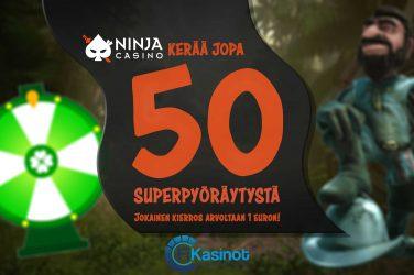 Superkierroksia Ninja Casinolla