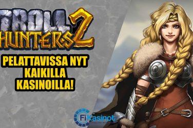 Troll Hunters 2 saapui kasinoille