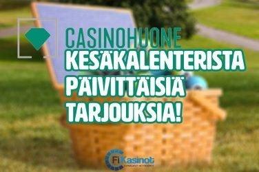 Casinohuoneen kesäkalenteri