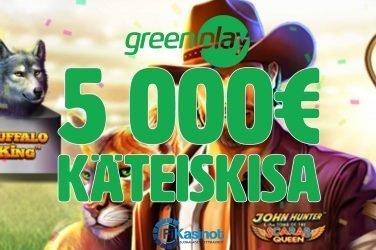 GreenPlayn 5 000 euron käteiskisa