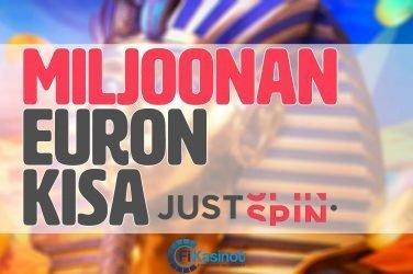 Justspinin miljoonan euron kisa