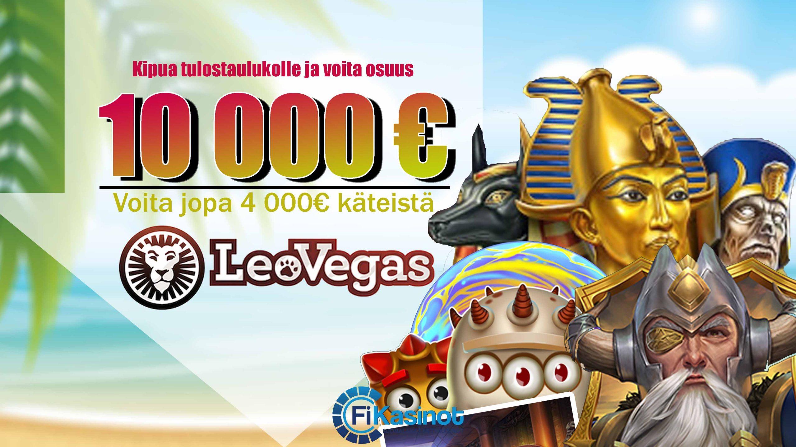 LeoVegasin kymppitonnin turnaus