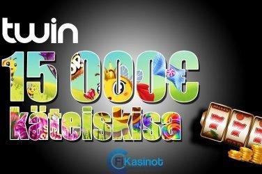 Twin Casinon 15 000 euron kilpailu