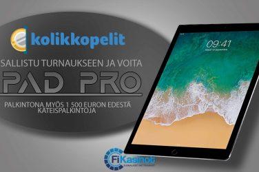 iPad Kolikkopeleiltä