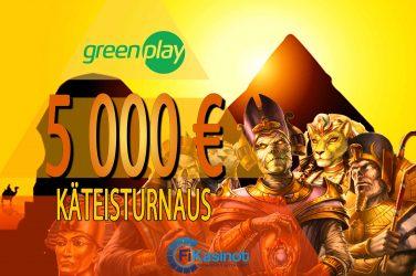 GreenPlayn 5 000 euron kisa