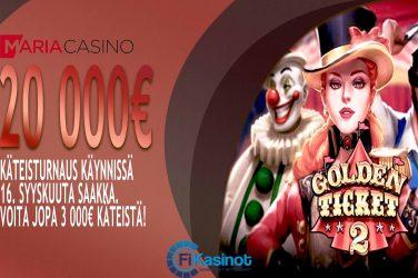 Maria Casinon 20 000 euron turnaus