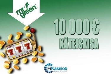 Mr Greenin 10 000 euron käteiskisa