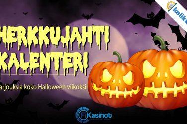 Kolikkopelien Halloween-kampanja