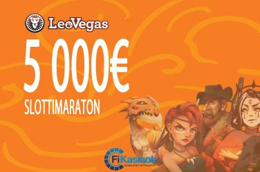 LeoVegasin 5 000 euron slottimaraton