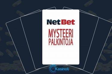 Mysteeripalkintoja NetBetillä