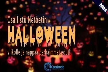 NetBetin Halloween-hulinat