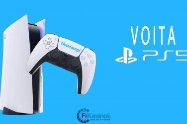 Playstation 5 Nopeampi-kasinolta